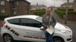 Rhian Thomas passed with XLR8 Wales Driving School