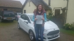 Rhiannon Bartlett passed with XLR8 Wales Driving School