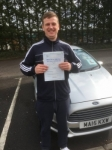 Rhys Oakley passed with XLR8 Wales Driving School