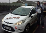 Rhys Warren passed with XLR8 Wales Driving School
