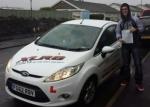Rhys Warren passed with XLR8 Wales Driving School