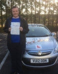Richard Darch passed with XLR8 Wales Driving School