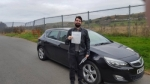 Robert Evans passed with XLR8 Wales Driving School