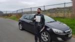 Robert Evans passed with XLR8 Wales Driving School