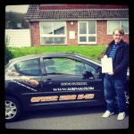 Ryan Bailey  passed with XLR8 Wales Driving School