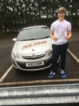 Ryan Jones passed with XLR8 Wales Driving School