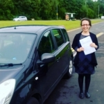 Sahar passed with XLR8 Wales Driving School