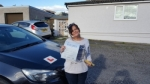 Sally Ann Cartwright passed with XLR8 Wales Driving School
