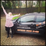 Sally Brinkworth passed with XLR8 Wales Driving School