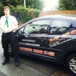 Sam passed with XLR8 Wales Driving School