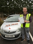 Sam Walters passed with XLR8 Wales Driving School