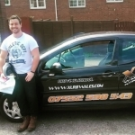 Sam West passed with XLR8 Wales Driving School