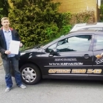 Sam Wright passed with XLR8 Wales Driving School