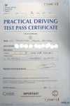 Samantha Edwards passed with XLR8 Wales Driving School