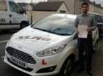 Santoosh Kalakoti passed with XLR8 Wales Driving School