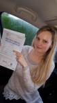 Sarah Louise Clark passed with XLR8 Wales Driving School