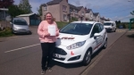 Sarah Cox passed with XLR8 Wales Driving School