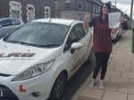 Sarah Jones passed with XLR8 Wales Driving School