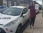 Sarah Jones passed with XLR8 Wales Driving School