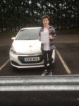 Scarlett Neary passed with XLR8 Wales Driving School