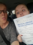 Shannon Brooks passed with XLR8 Wales Driving School
