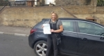 Sharon Evans passed with XLR8 Wales Driving School