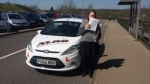 Sioned Diplock passed with XLR8 Wales Driving School