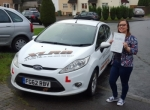 Sophie Evans passed with XLR8 Wales Driving School
