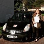 Steph passed with XLR8 Wales Driving School