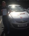 Stephen Jones passed with XLR8 Wales Driving School