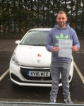 Steve Berryman passed with XLR8 Wales Driving School
