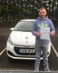 Steve Berryman passed with XLR8 Wales Driving School