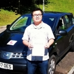 Sunny passed with XLR8 Wales Driving School