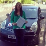 Suzanne Ham passed with XLR8 Wales Driving School