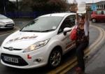 Suzi Morgan passed with XLR8 Wales Driving School