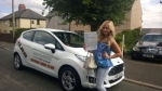 Tammy Sloman passed with XLR8 Wales Driving School