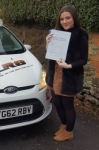 Tammy Williams passed with XLR8 Wales Driving School