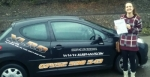 Tania Murray passed with XLR8 Wales Driving School