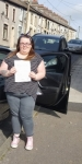 Terri Short passed with XLR8 Wales Driving School
