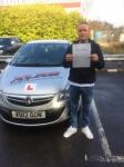 Thomas Pugh passed with XLR8 Wales Driving School