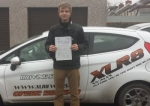 Tim Rogers passed with XLR8 Wales Driving School