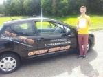 Tom Barrett passed with XLR8 Wales Driving School
