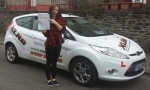 Tyler Beamand passed with XLR8 Wales Driving School