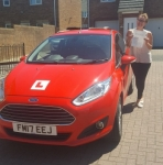 Vicky Gornicki passed with XLR8 Wales Driving School