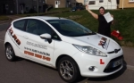 Vicky Stefanovic passed with XLR8 Wales Driving School