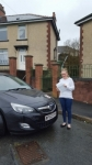 Zoe Quick passed with XLR8 Wales Driving School