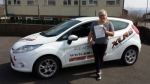 Adina Jones passed with XLR8 Wales Driving School