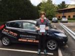 Ben Hooper passed with XLR8 Wales Driving School