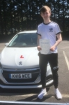 Cameron Williams passed with XLR8 Wales Driving School