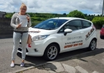 Stacey Cowley passed with XLR8 Wales Driving School